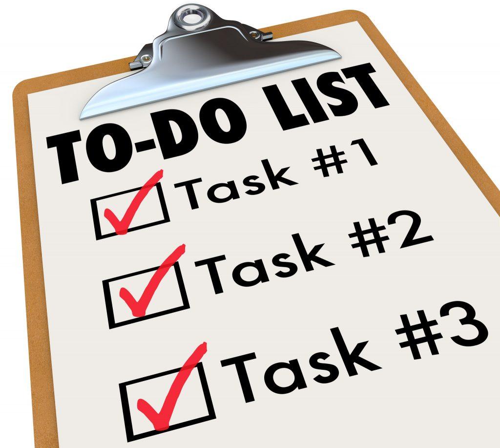 Organizing Tasks